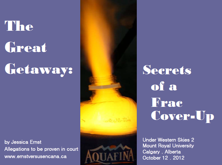 Secrets of a Frac Cover-Up
