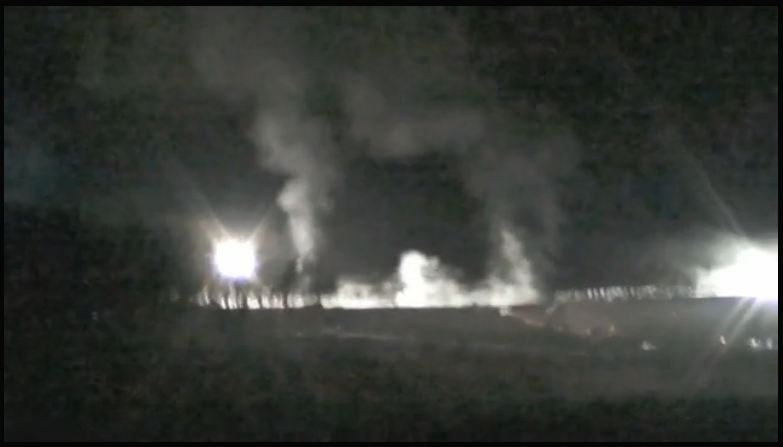 Screen Capture FrackingCanada short film Home Night Frac in Rocky View County