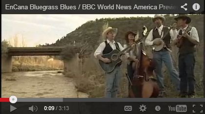 2008 04 23 EnCana Bluegrass Blues BBC World News