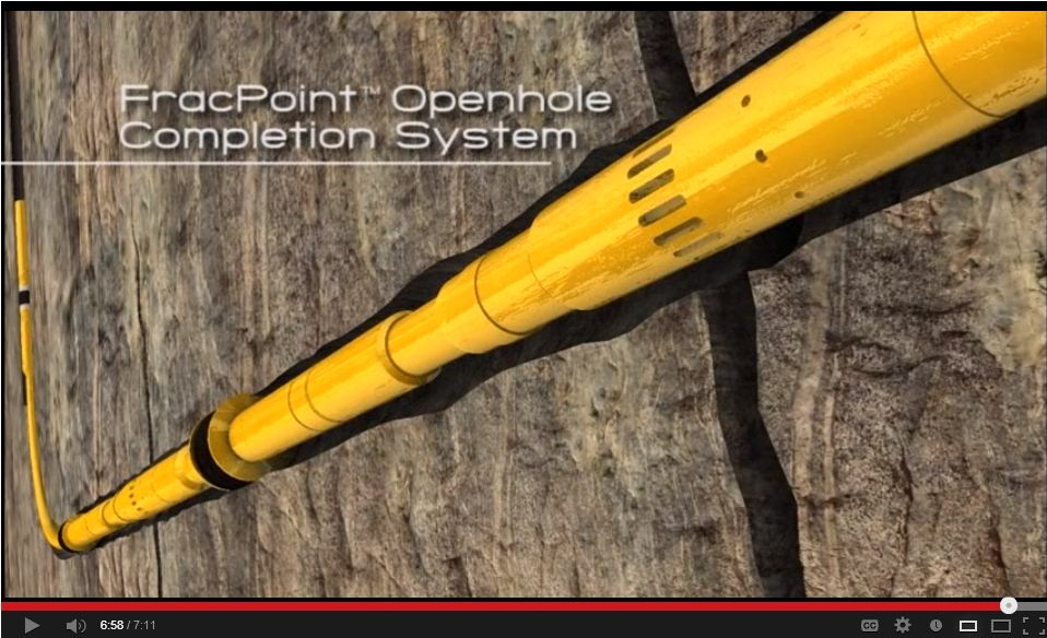 2010 baker hughes fracpoint open hole completion system