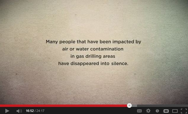 Unearthed The Fracking Facade snap people impacted by gas drilling disappear into silence