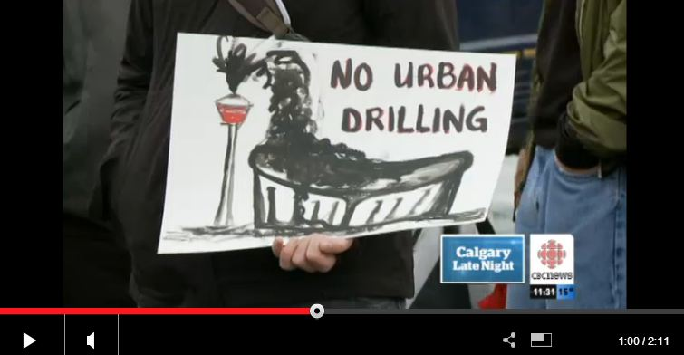 2013 09 01 Kaiser kills Royal Oak Calgary frac for oil Calgarians say no to getting frac'd