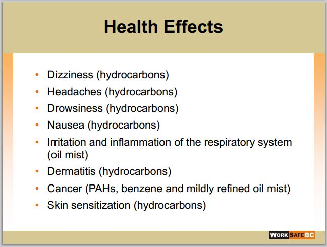 2014 06 24 Health Effects of drilling fluids