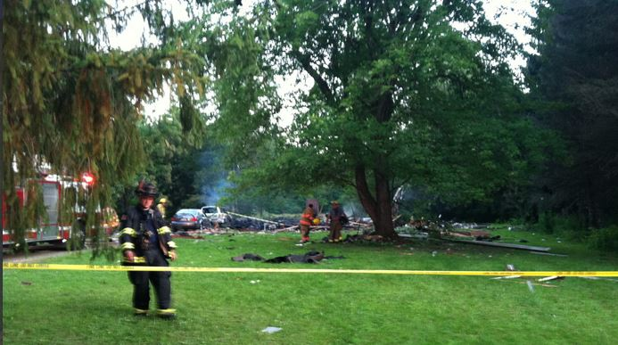 2014 07 17 Ohio Home Explosion kills 27 year old woman, critically injures boyfriend