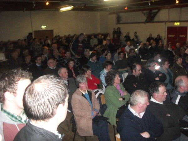 2012 02 24 Jessica Ernst Packs Hall at Ballroom of Romance Leitrim County Republic of Ireland
