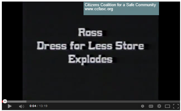 1985 Ross Dress for Less Explodes Youtube