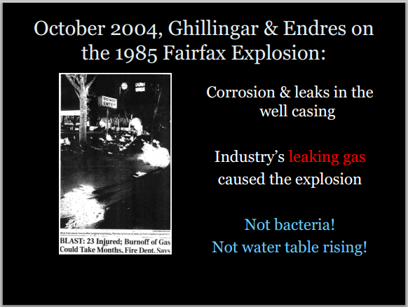 2004 Ghilligar and Endres on Dress for Less Explosion causes Corrosion and Leaks in casing not bacteria