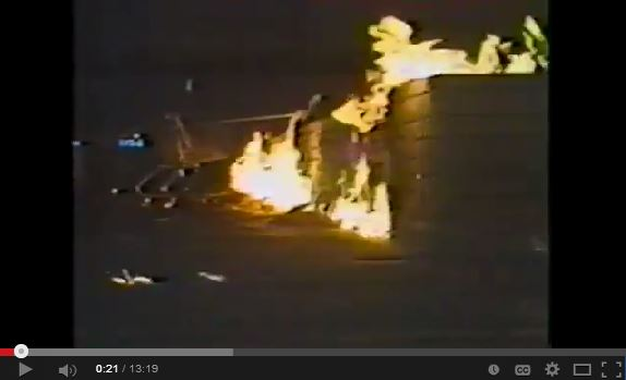 2012 05 30 You tube of March 24, 1985 Dress for Less leaking industry's methane caused explosion snap2