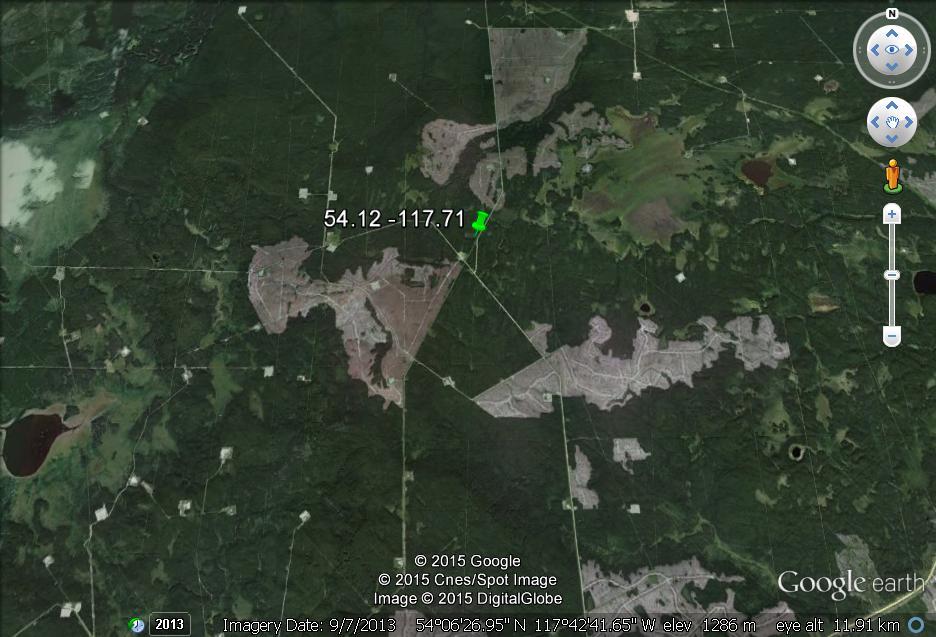 2015 08 10 close up Fox Creek 2.6M earth quake