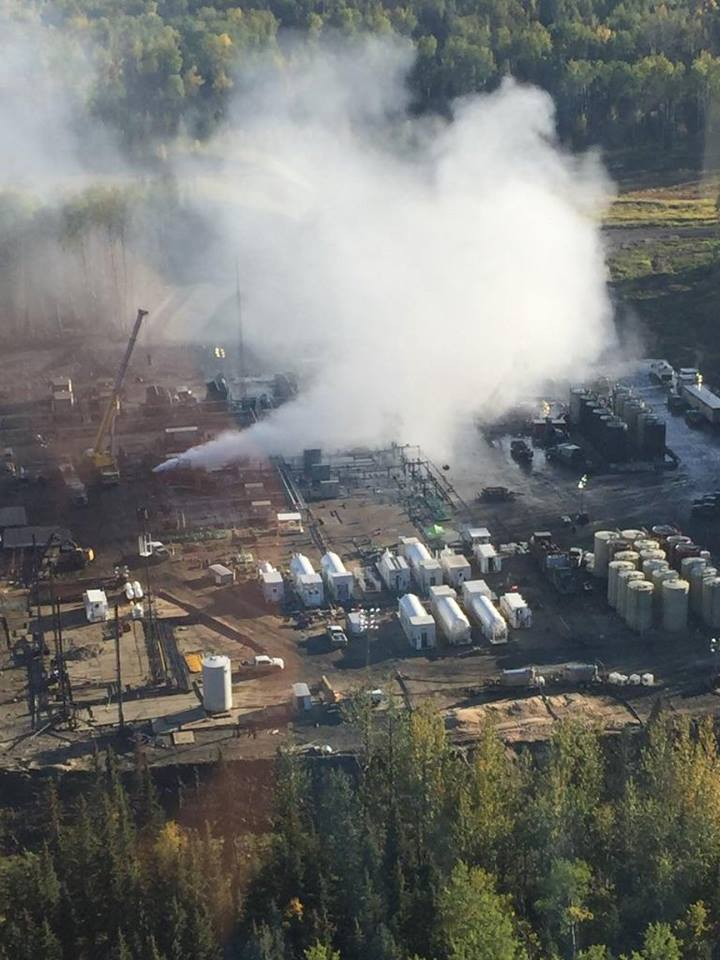 2015 09 Fox Creek, Alberta, is this encana sour gas & condensate incident, 20,000,000,000 litres leaking per day1