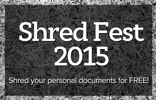 2016 01 07 Shredfest, shred your personal documents for free