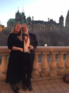 2016 04 21 Andrew Nikiforuk & Doreen Docherty at Writer's Trust Galla in Ottawa