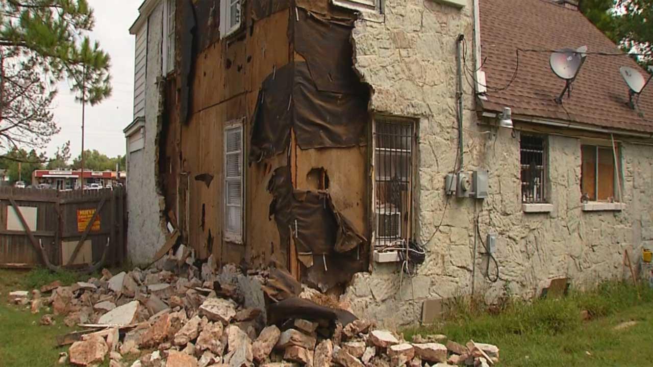 2016 09 03 5.6M Earthquake damages bldgs in OKC metro, Oklahoma News9