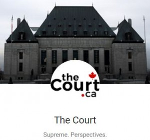 2017 01 20 theCourt.ca logo, 'Damaging the Charter' Ernst v. Alberta Energy Regulator by Lorne Sossin