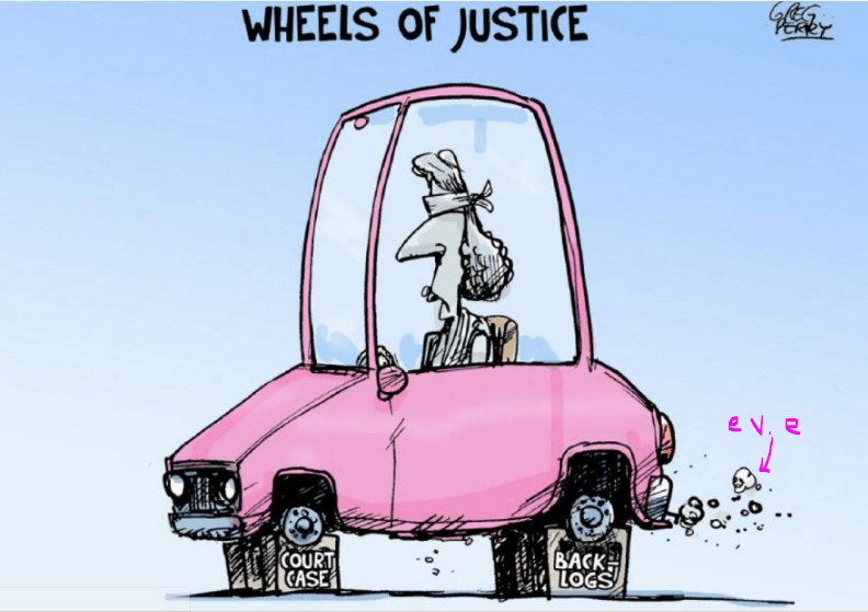 2017 03 12 Canadian Wheels of Justice cartoon by Greg Perry in Toronto Star