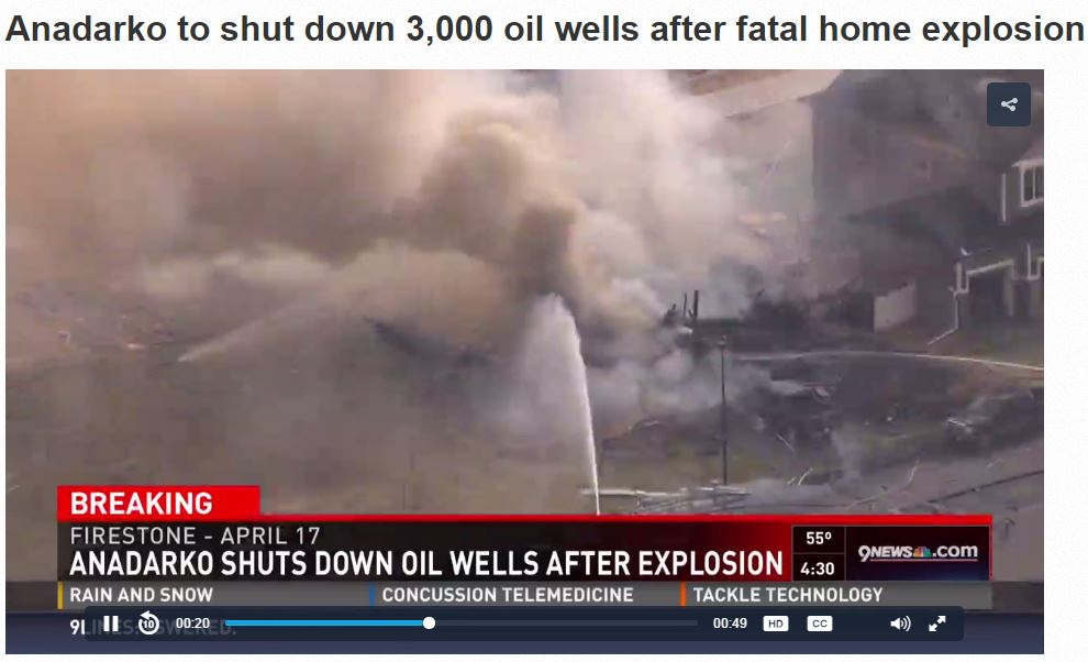 2017 04 26 Anadarko shuts down oil wells after home explosion killed two, hospitalized two more, including high school science teacher 3