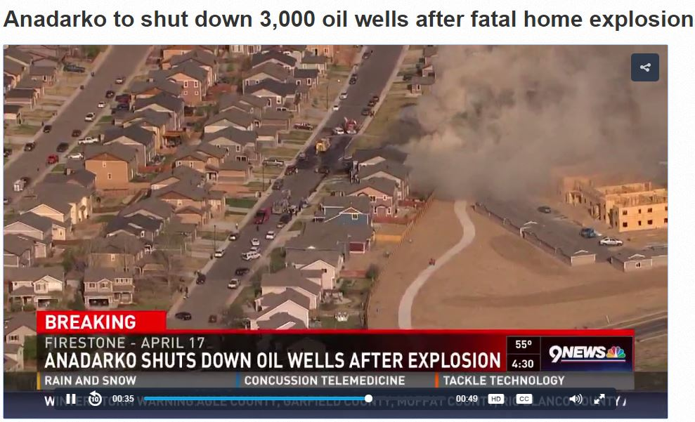 2017 04 26 Anadarko shuts down oil wells after home explosion killed two, hospitalized two others including high school science teacher 4