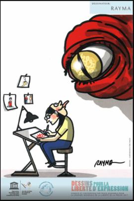 2017 05 03 Celebrating World Press Freedom Day Cartoon